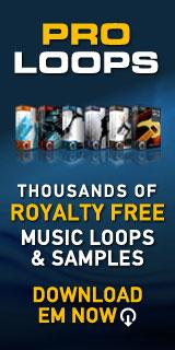 Free Music Loops provide free drums, bass, guitar, keyboard